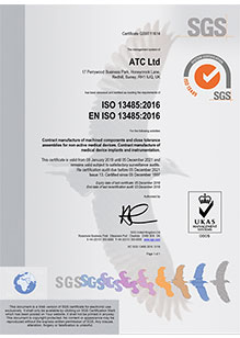 Quality Assurance: ISO13485:2016
